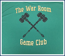 The War Room Game Club Shirt